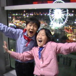 Korean students enjoying Houston Rodeo