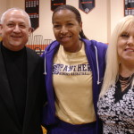 Pastors with WNBA legend Cynthia Cooper
